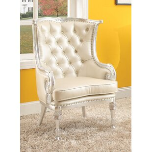 A&J Homes Studio Pawnee Wingback Chair