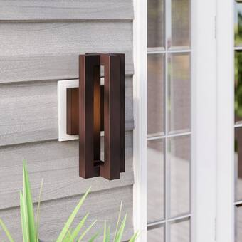 Latitude Run Umberto Led Outdoor Sconce Wayfair