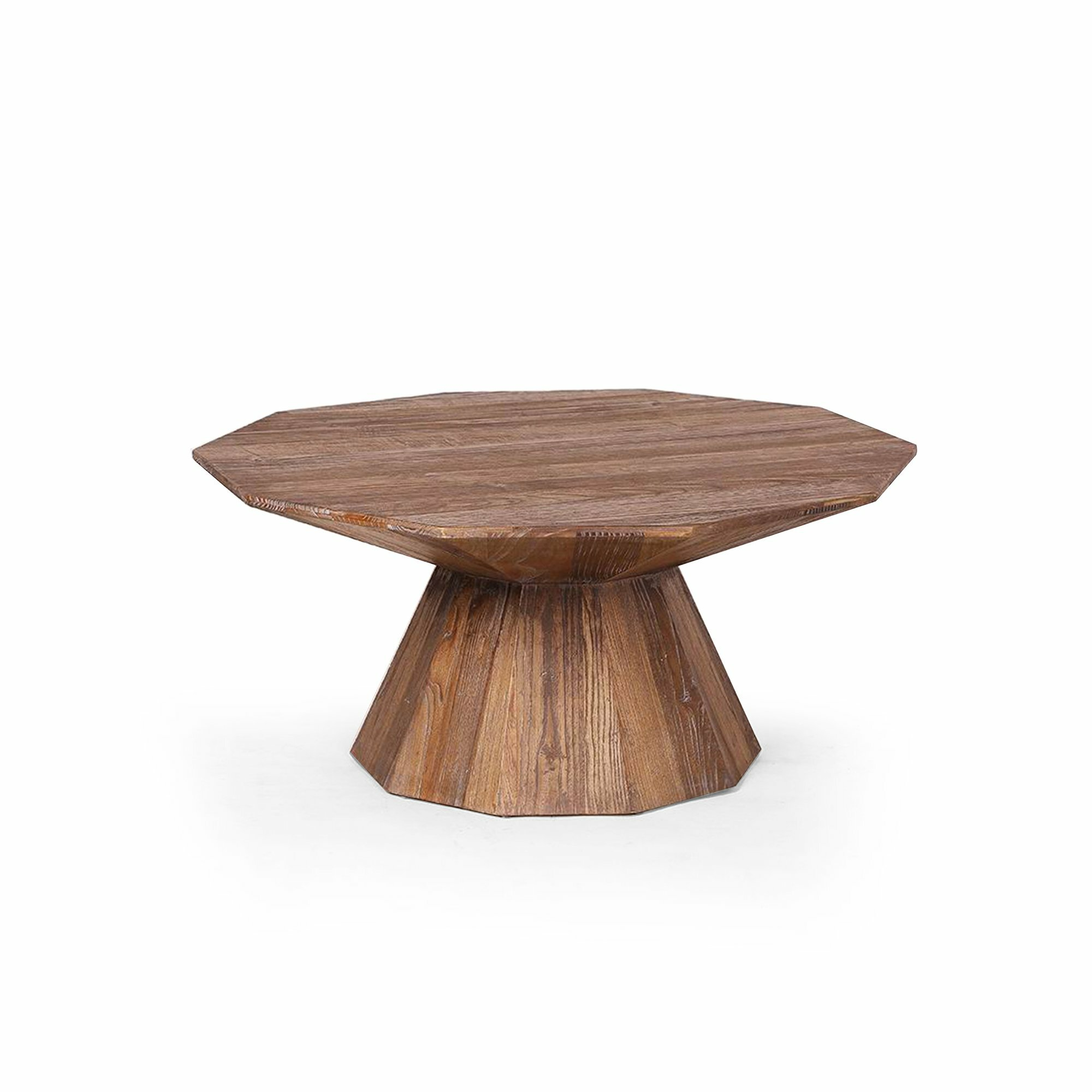 Picture of: Coppola Solid Wood Pedestal Coffee Table