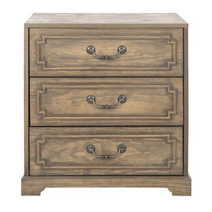 Kanagy 3 Drawer Nightstand