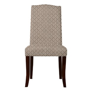 Red Barrel Studio Lasseter Geometric Parsons Chair (Set of 2)