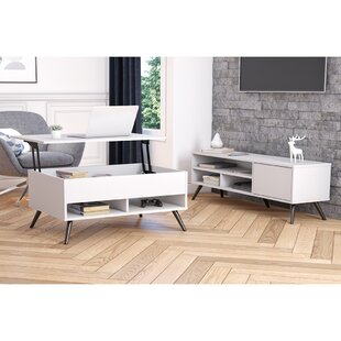Doucet 2 Piece TV Stand for TVs up to 60 Set by Orren Ellis