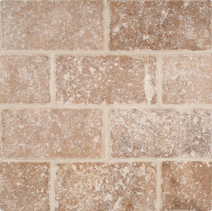 Msi tuscany walnut 3 x 6 travertine subway tile in tumbled brown tuscany walnut 3 x 6 travertine subway tile in ppazfo