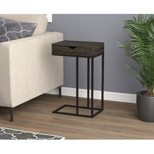 Deals Dame End Table by Brayden Studio