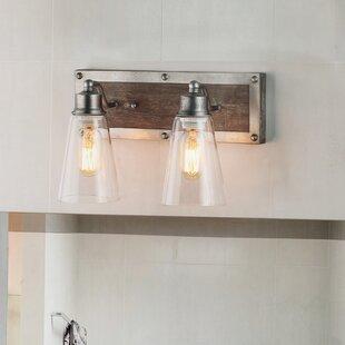 Bargain Murphree Linear Wall 2-Light Vanity Light By Williston Forge