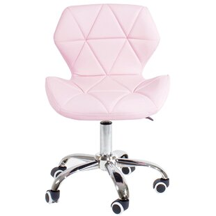 Blush Pink Office Chair Wayfaircouk