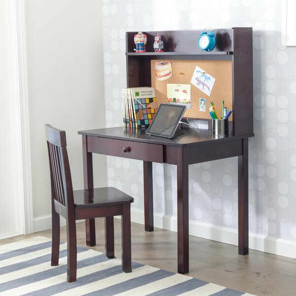 Kidkraft Pinboard Kids Study Desk And Chair Set With Kids