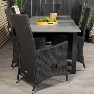 Jayesh 6 Seater Dining Set With Cushions By Sol 72 Outdoor