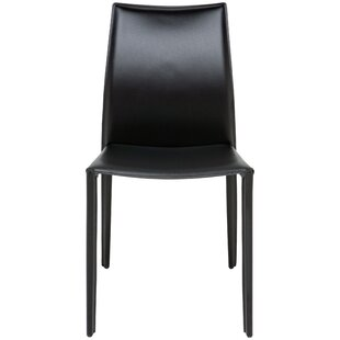 Sienna Leather Upholstered Dining Chair by Nuevo