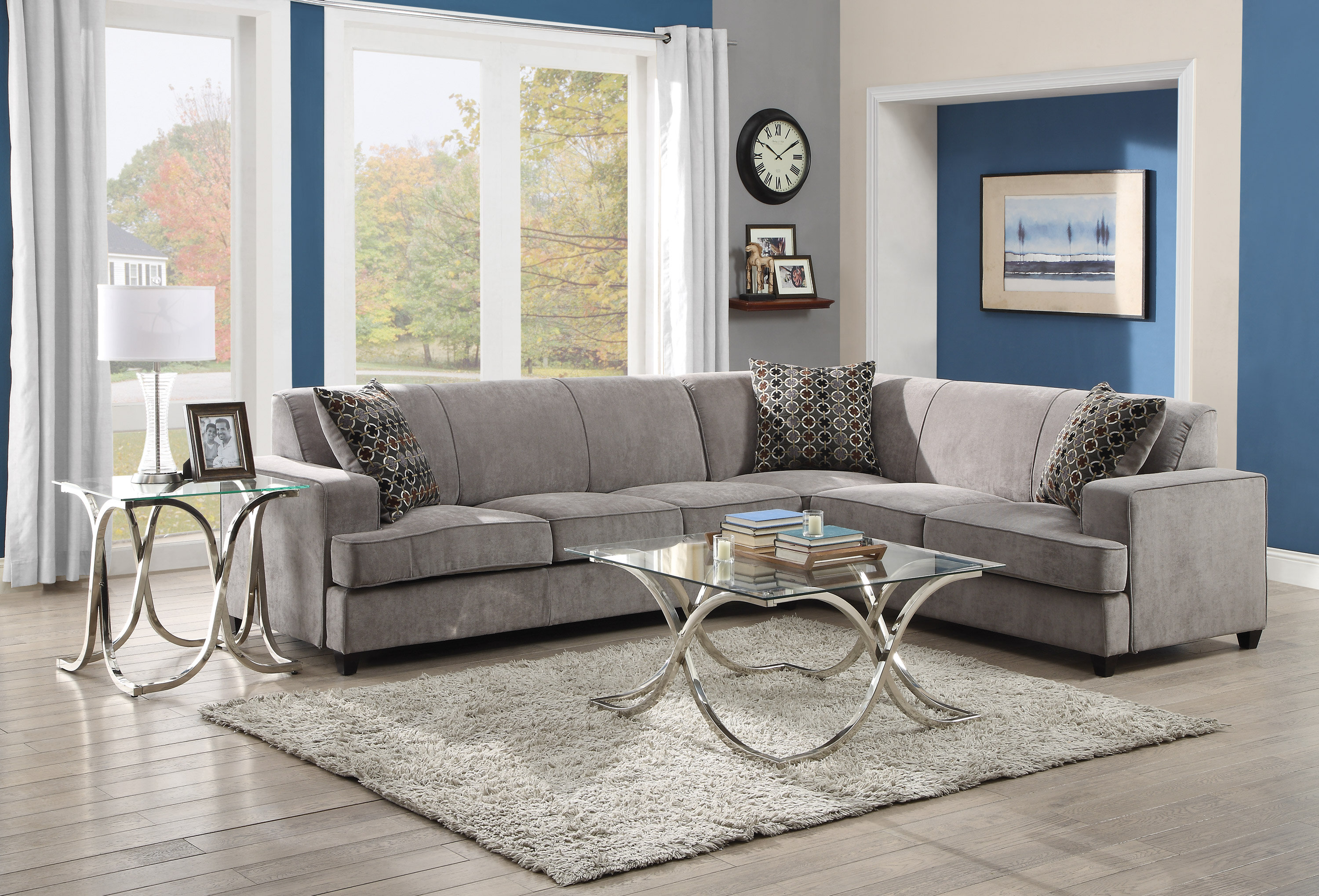Darby home co caswell sleeper sectional reviews wayfair