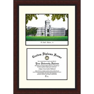 NCAA Citadel Bulldogs Legacy Scholar Diploma Frame By Campus Images
