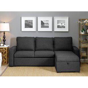 Maumelle Sleeper Sectional by Three Posts Great Reviews