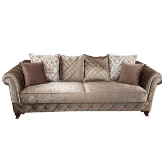 Kosem Convertible Sleeper Sofa, Dropp Brown by Rosdorf Park SKU:AA175351 Check Price