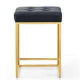 Leeper Leather 26 Bar Stool by Mercer41