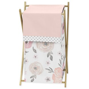 Sweet Jojo Designs Floral Laundry Hamper