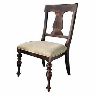 Alcott Hill Sierra Side Chair in Linen (S..