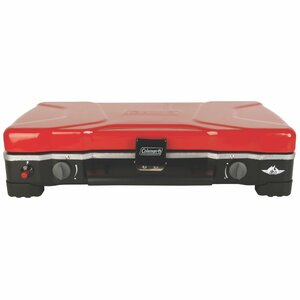 FyreSergeant Portable 2-Burner Propane Grill and Stove Combo