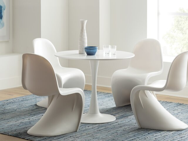 Peachy Modern Kitchen Dining Tables Allmodern Onthecornerstone Fun Painted Chair Ideas Images Onthecornerstoneorg