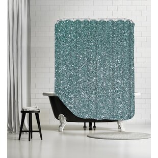 Sparkly hower Single Shower Curtain