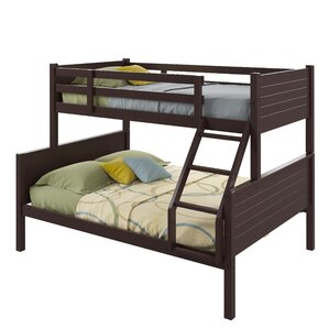 Cherry Twin over Full Bunk Bed by Harriet Bee