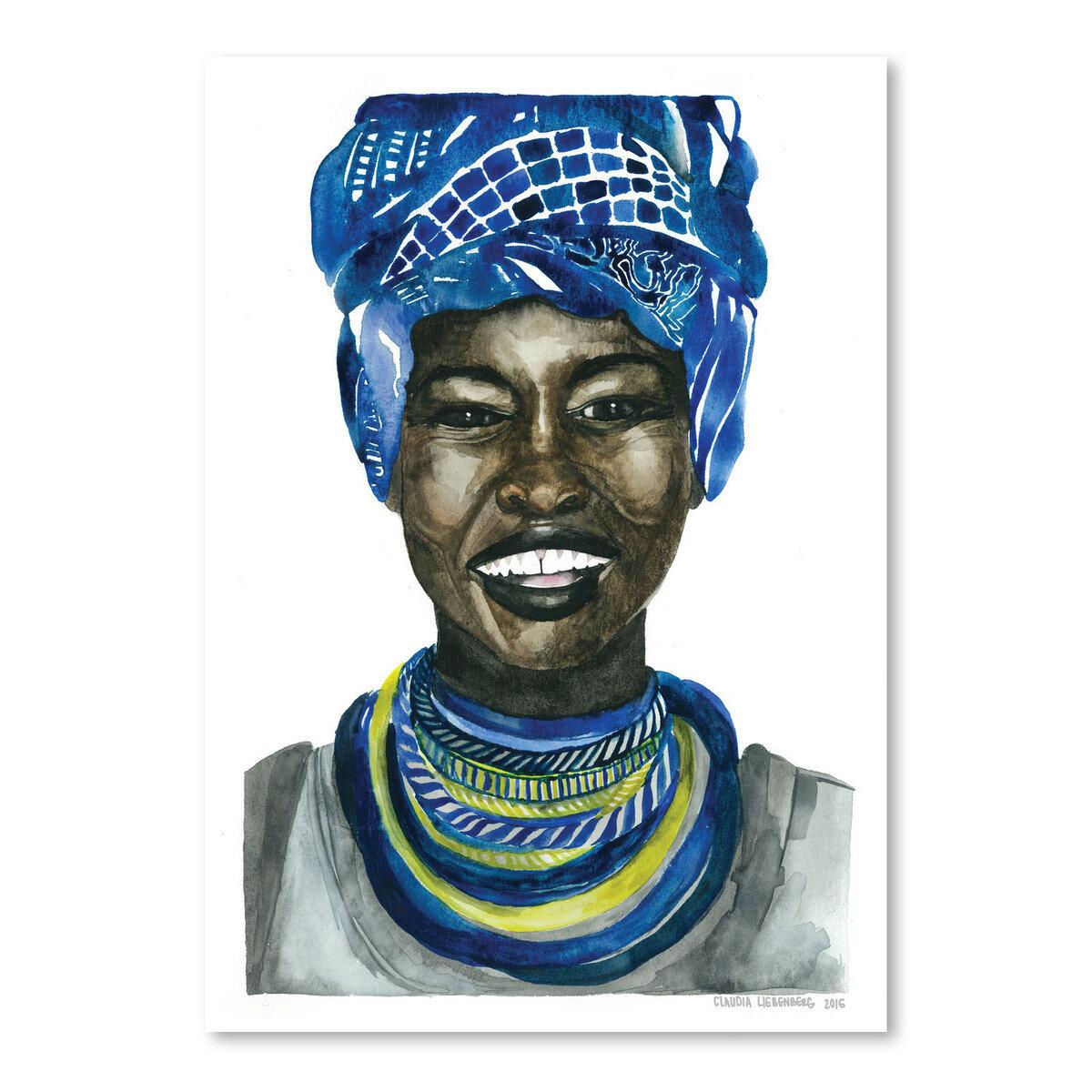 East Urban Home African Pride 3 Painting Print Reviews Wayfair