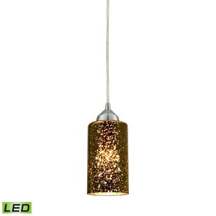 Latitude Run Burks 1-Light Cylinder Pendant