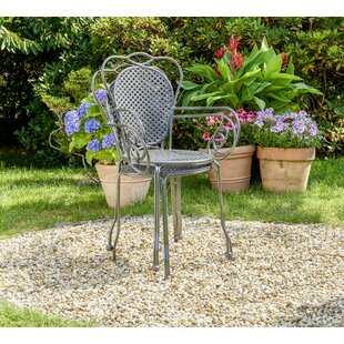 Zeppelin Stacking Garden Chair By Lily Manor