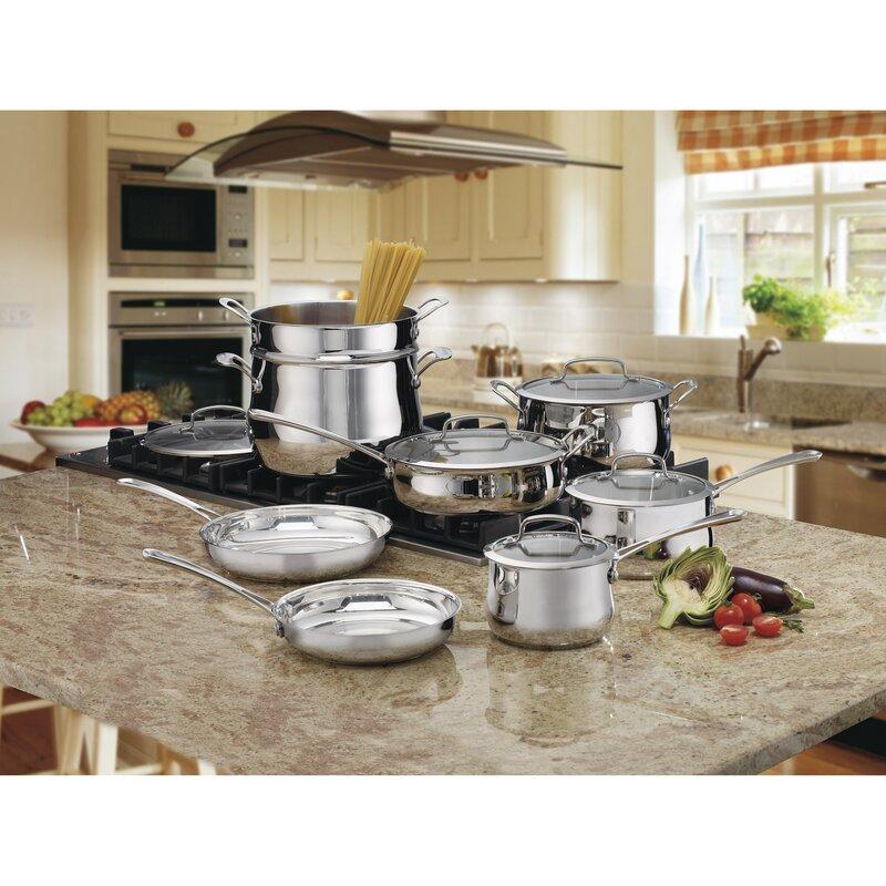 Cuisinart 13 Piece Stainless Steel Cookware Set