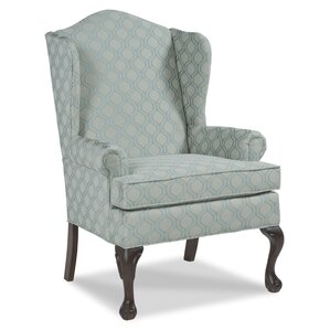 Ball and Claw Wingback Chair by Fairfield Chair