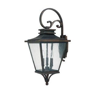 Capital Lighting Gentry 3-Light Outdoor Wall Lantern