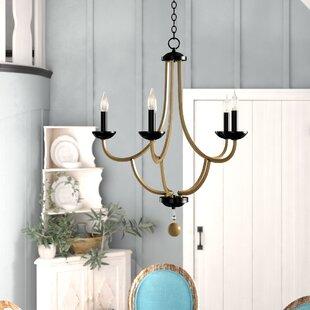Gracie Oaks Winget 5-Light Candle Style Chandelier