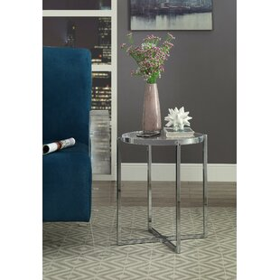 Raylan End Table by Everly Quinn