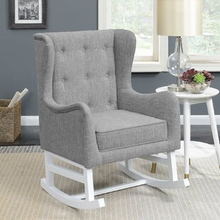 Letchworth Rocking Chair by Harriet Bee
