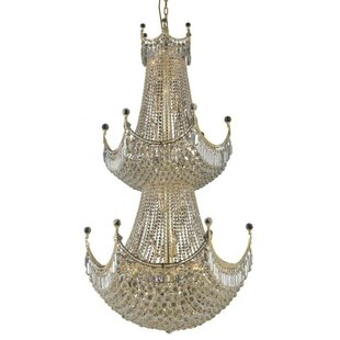Willa Arlo Interiors Kasha 36-Light Empire Chandelier