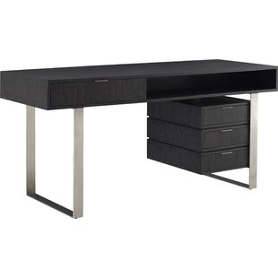 Palmer Solid Wood Writing Desk by Brownstone Furniture