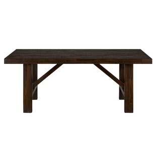 Claire Solid Wood Dining Table Alcott Hill