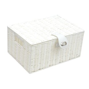 Woven Plastic Basket By Brambly Cottage