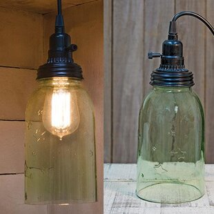 Gracie Oaks Lipman 1-Light Cone Pendant
