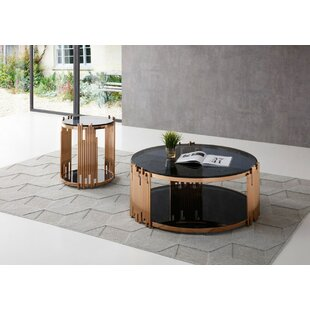 VIG Furniture Bryce 2 Piece Coffee Table Set