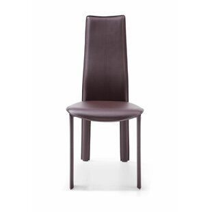 Allison Genuine Leather Upholstered Dining Chair (Set of 4) Whiteline Imports