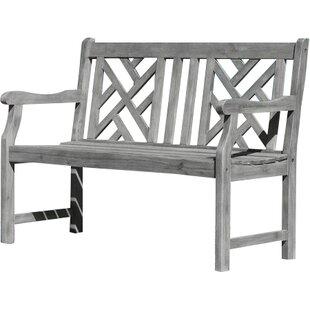Densmore Wood Garden Bench