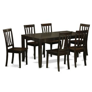 Lockmoor 7 Piece Dining Set by Red Barrel..