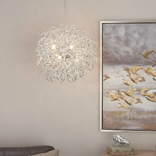 Orren Ellis Guarascio 3-Light Globe Chandelier