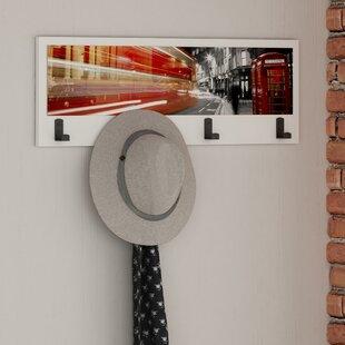 Check Price London Wall Mounted Coat Rack