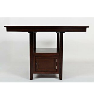 Aarush Transitional Pub Table by Charlton Home