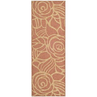 Laurel Rust Indoor/Outdoor Area Rug