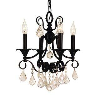 Astoria Grand Mallie 4-Light Candle Style..