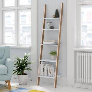 Wooden Ladder Shelving