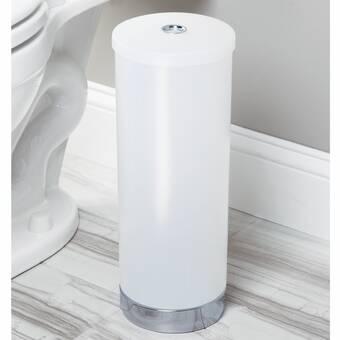 Pivotant Porte-rouleaux de papier toilette autoportante CHROME détient Extra Loo Rolls salle de bain