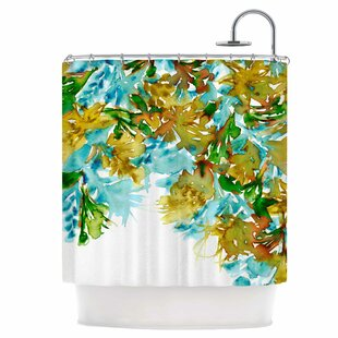 Floral IX Single Shower Curtain By East Urban Home
